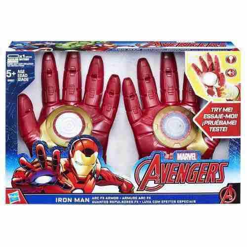Avengers 2 Guantes Iron Man Marvel Hasbro Sonidos Luz