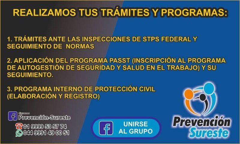 CAPACITACIÓN Y TRÁMITES EN PROTECCIÓN CIVIL Y SEGURIDAD