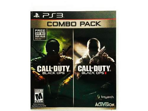 Call Of Duty Combo Pack (black Ops 1 & 2) Nuevo Ps3