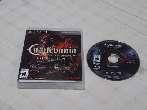 Castlevania Lords Of Shadow Collection Ps3 Playstation 3