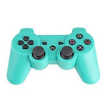 Control Para Ps3 Generico Inalambrico Verde Incluye Cableusb