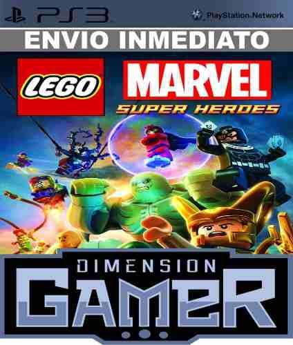 Lego Marvel Super Heroes Ps3 Psn Store Digital