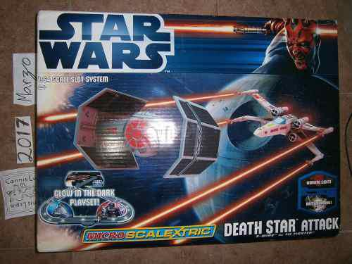Micro Scalextric Star Wars Death Star Attack 1:64