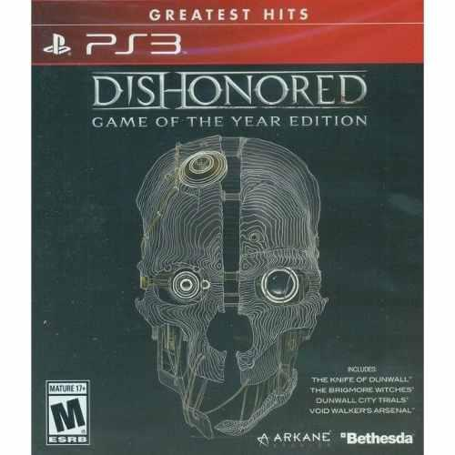 Playstation 3 Dishonored Game Of The Year Edition Nuevo