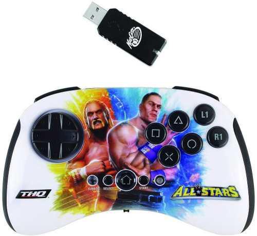 Playstation 3 Wwe All Stars Sin Hilos Brawlpad Mole Hogan Y