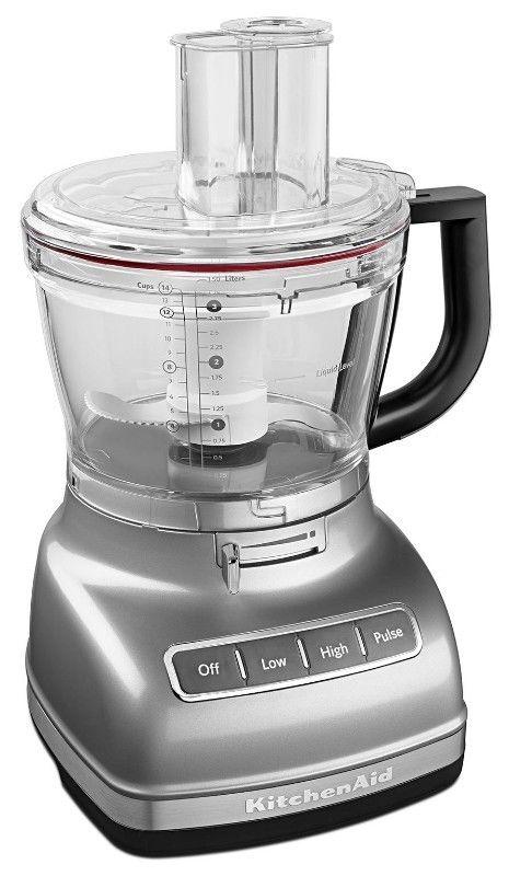Procesador de Alimentos KitchenAid 14 tazas color plata