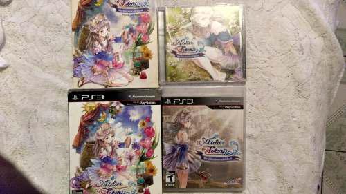Ps3 Atelier Totori Edicion Especial (no Zelda,crash,rpg)