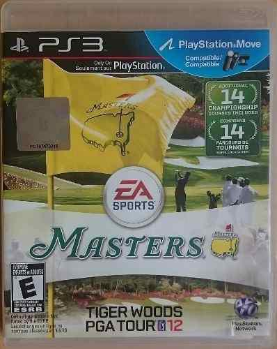 Ps3 Masters Tiger Woods Pga Tour 12 $225 Pesos Mikegames