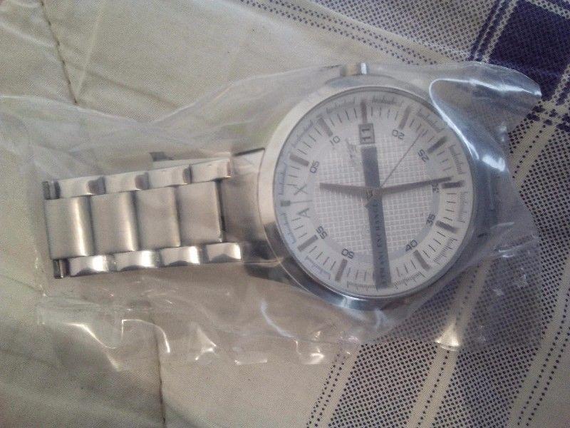 Reloj Armani AX Caballero Quarzo