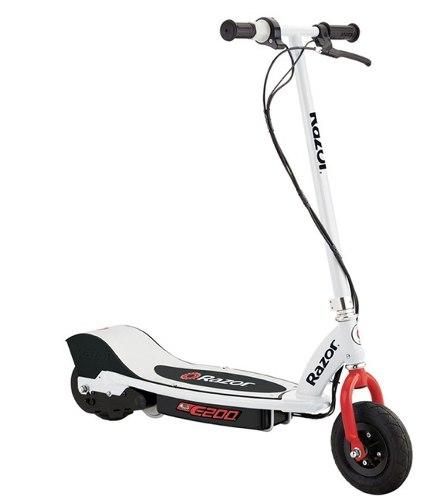 Scooter Patin Electrico Razor E200 Blanco Envio Gratis