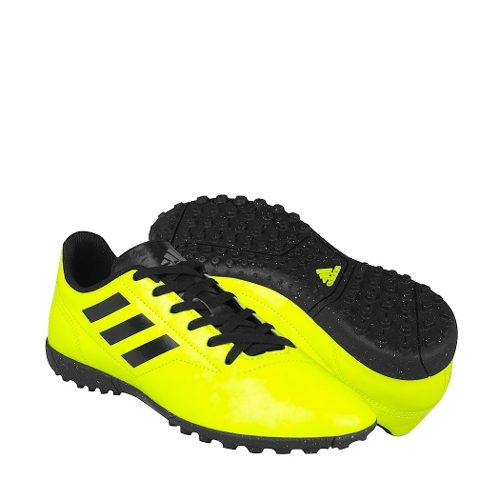 46a4ba2df3c Tenis de fútbol adidas caballero simipiel amarillo aq
