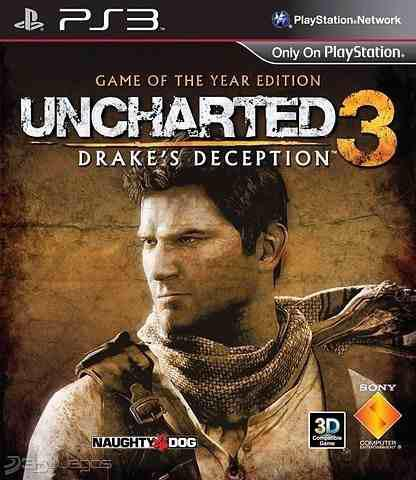 Uncharted 3 Para Ps3 (44gb) Digital Oferta
