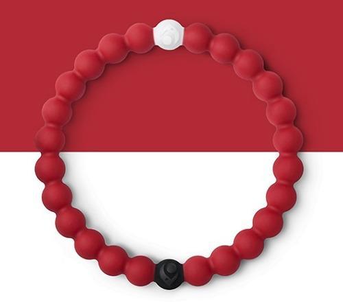 5 Pulsera Lokai Original, Color Rojo, Africa.