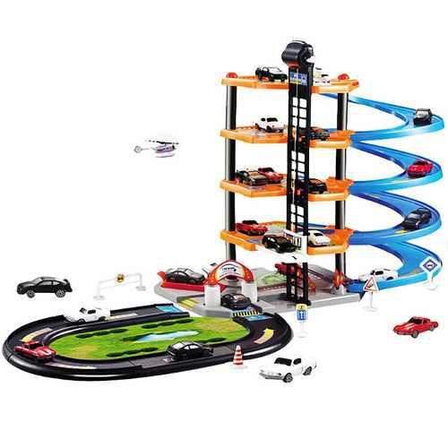 Aparcamiento De Coches En 3d Diy Toy Para Niños