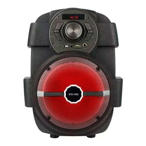 Bocina Bluetooth 6 Pulgadas 15w Rms Karaoke Usb Kts-