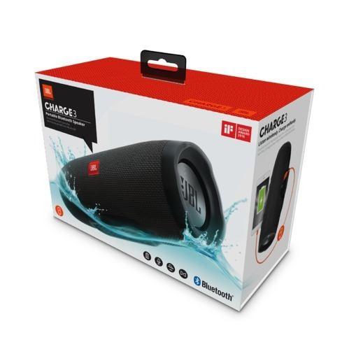 Bocina Jbl Charge 3 Bluetooth Contra El Agua Original