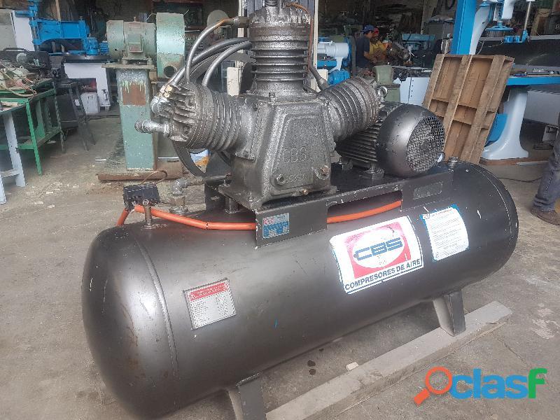 Compresor de aire 10 HP CBS 500 Litros año 2006