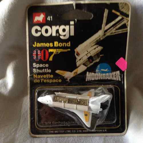Corgi Avion James Bond 007 Space Shuttle Moonraker
