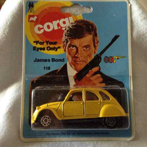 Corgi Coche James Bond 007 For Your Eyes Only Ano 1976