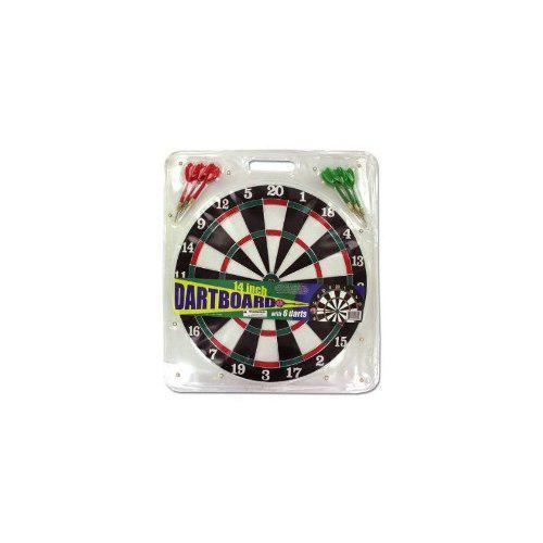 Dartboard Con 6 Dardos, Caja De 16
