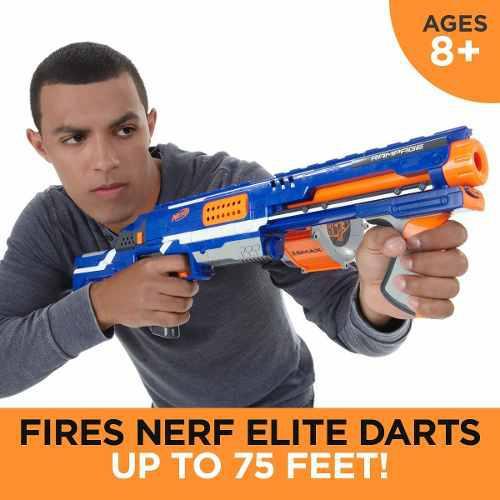 Hasbro Nerf N Strike Elite Rampage Xd...