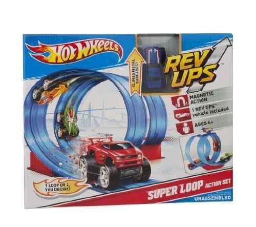 Hot Wheels Rev Ups Loop Super Action Set