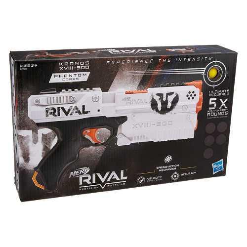Kronos Xviii 500 Nerf Rival Lanzador Hasbro Original