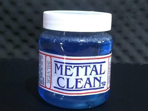 Liquido Para Limpiar Plata Ley 925 Mettal Clean Taxco