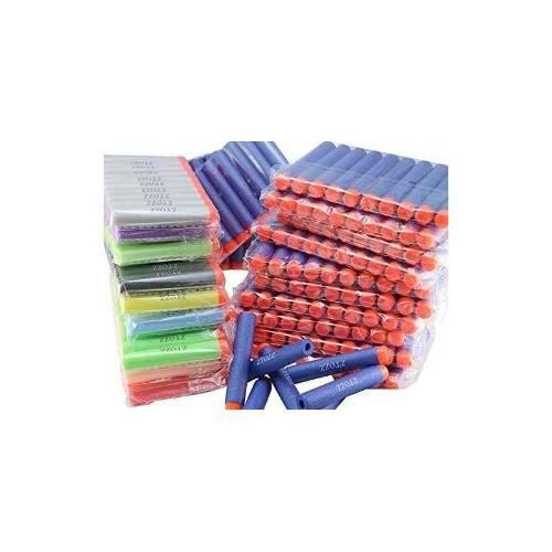 Nerf Compatible Bullets 400 Dardos Multicolor Soft Tip Para