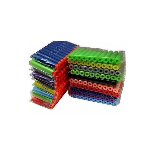 Nerf Compatible Bullets 600 Dardos Multicolor Soft Tip Para