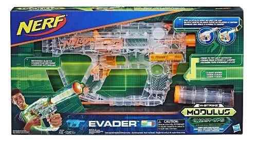 Nerf Modulus Ghost Ops Evader Blaster Motorizada Luz Neon