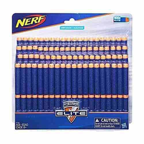 Nerf N-strike Elite Dardos, Paquete De 100 Dardos