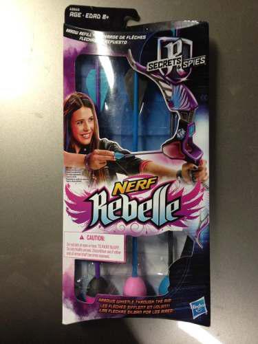 Nerf Rebelle 6 Flechas 2 Paquetes De 3 C / U