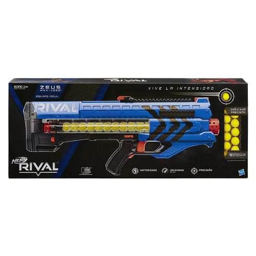 Nerf Rival Zeus Mxv 1200 Color Azul