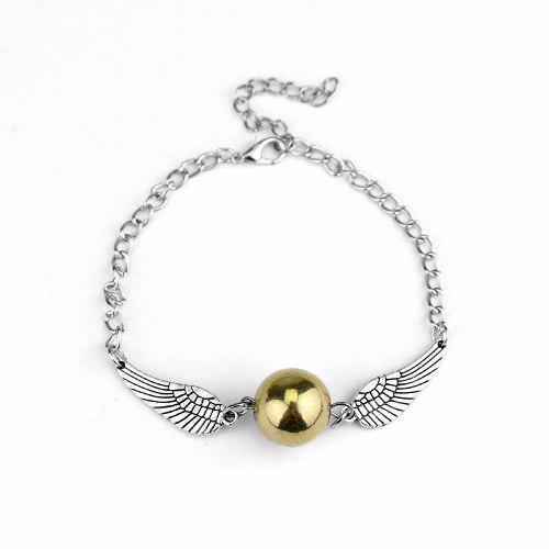 Pulsera Harry Potter Snitch Dorada Golden Snitch Quidditch