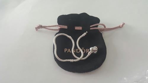 Pulsera Pandora Corazón Varias Medidas