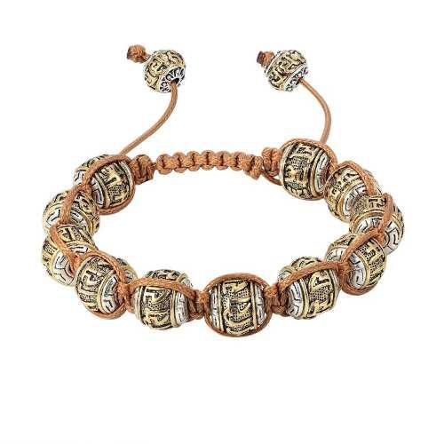 Pulsera Tibetana Amuleto Budista 100% Genuina Macrame