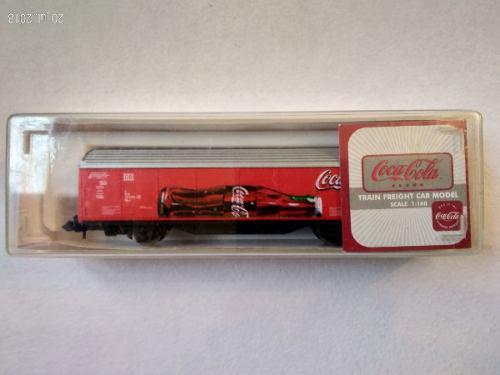 Vagón De Tren Coca Cola Escala N - 1:160 Producto Oficial A
