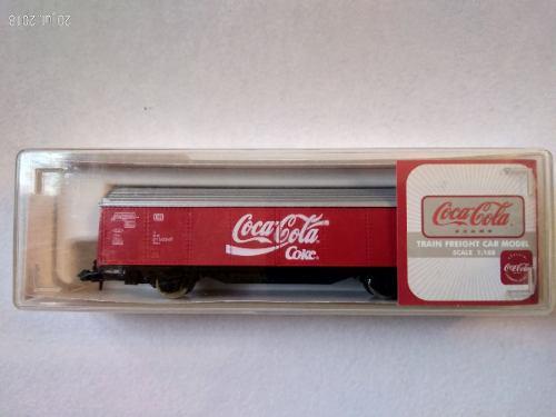 Vagón De Tren Coca Cola Escala N - 1:160 Producto Oficial B