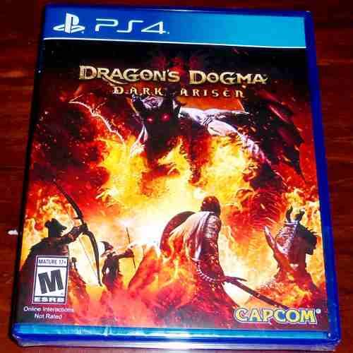 Videojuego Dragon's Dogma Dark Arisen Ps4 Físico Sellado