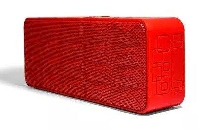 Vorago Bocina Bluetooth Portatil Manos Libres Bsp-100 Roja