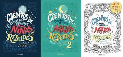 3x1 Cuentos De Buenas Noches Para Niñas Rebeldes 1 & 2 & 3