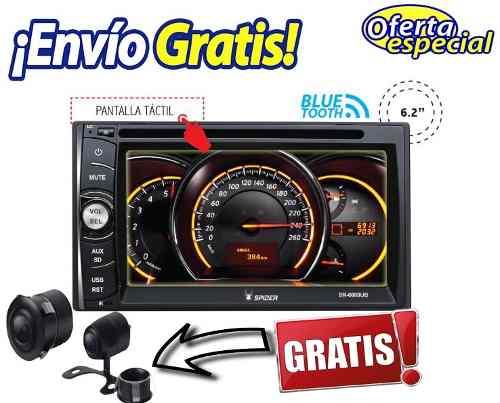 Auto Estereo 2 Din Spider Pantalla Touch | Bluetooth | Usb