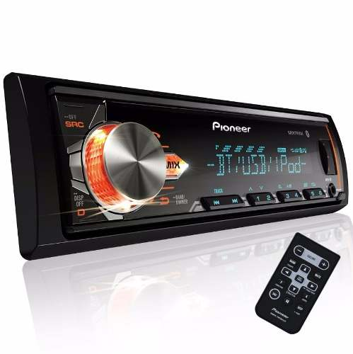 Autoestereo Pioneer Mvh X3 Bluetooth Usb Mp3 Aux Ipod Iphone