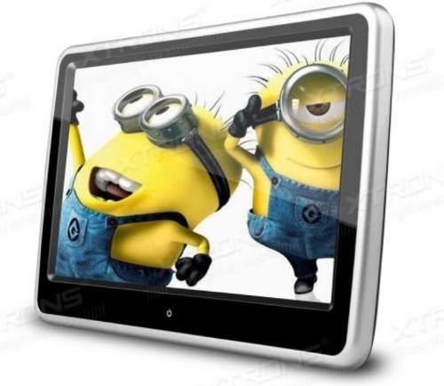 Cabecera Pantalla Casa Y Coche Tipo Tablet Usb Sd Touch Mp3