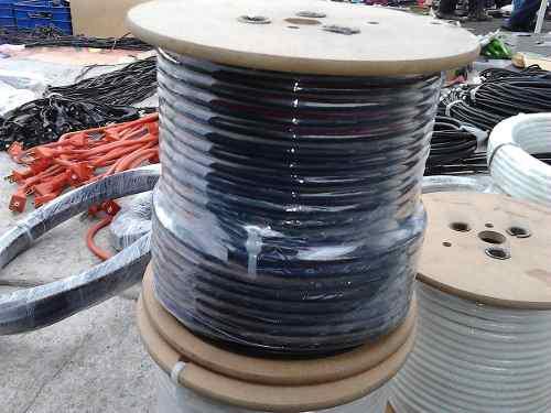 Cable Coaxial Rg6 Profesional Negro Viakon Factura