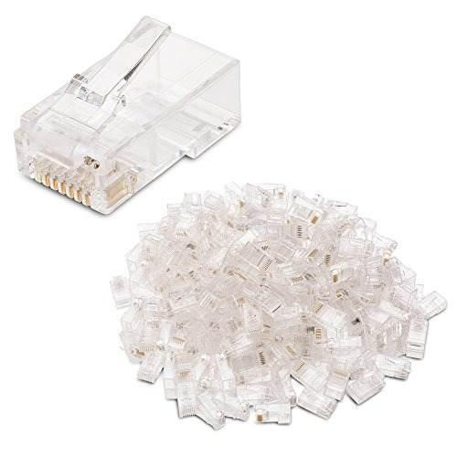 Cable Matters 200-pack Conectores Modulares Cat 6 Rj45 Con