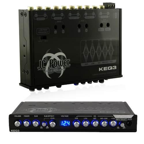 Ecualizador Con Epicentro Jc Power 5 Bandas Keq3x Aux Oferta
