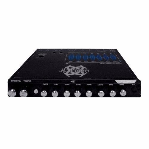 Ecualizador Jc Power Ke7x 7 Bandas De Ecualización Control