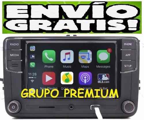 Estereo Car Play Iphone Vento Jetta Bora Amarok Gol Beetle